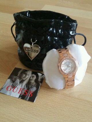 Guess W0111l3 Armbanduhr Für Damen Bild