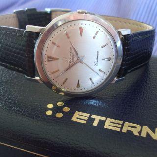 Klassiker Hau Eterna Eternamatic 2000 ' Centenaire ' Automatik Herren Armbanduhr Bild