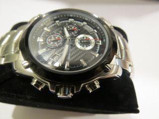 Marc & Sons Msq - 001/2 Armbanduhr Saphirglas 10 Atm Faltschließe Wie Bild