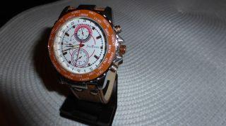 Armbanduhr Herrenuhr Jay Baxter Lederarmband Wasserresistent Bild