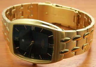Pallas 1153.  45.  91 Quartz Herrenuhr Vergoldet Metallband Uhr Bild