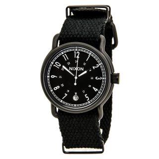 Nixon A3221148 Herren - The Axe - Schwarz Zifferblatt Nylonband Armbanduhr Bild