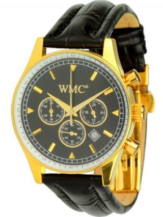 Wmc Timepieces Herrenuhrl Esquire Chrono 2027 Chronograph Citizen/miyota Bild