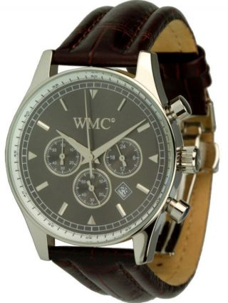 Wmc Timepieces Herrenuhr - Esquire Chrono 2025 - Citizen/miyota Quarzwerk Bild