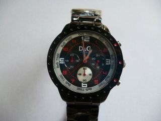 D & G Uhr Menneruhr Dw0192 Chronograph Bild