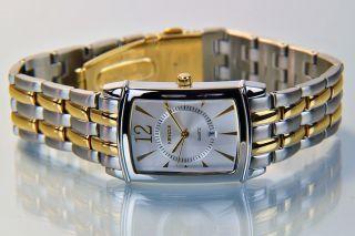 Kienzle Herren Uhr Quartz Edelstahl Bicolor Mit Metallarmband Datum V71091336790 Bild