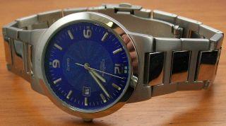 Pallas 1226.  40.  94 Herrenuhr Stahl Metallband Uhr Bild