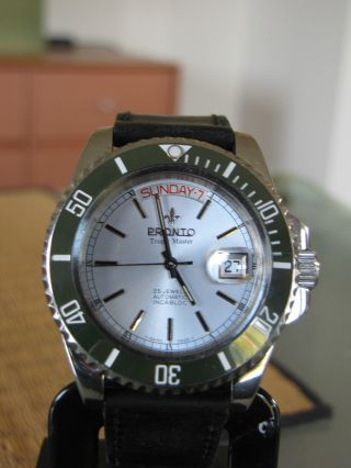 Swiss - Eta 2834 - 2 - Pronto Tropical Master Day/date - 20 Atm - Lupe Rlx Bild