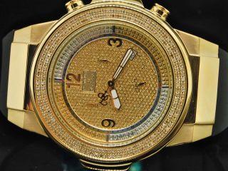 Joe Rodeo Platin Jojo Aqua Master Diamant Uhr 1.  75c Bild