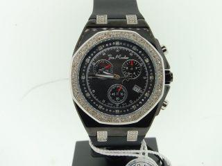 Herren Armbanduhr Joe Rodeo Panama 2 Reihen Rand 236 Dimanten Jojino Jojo 2.  15k Bild