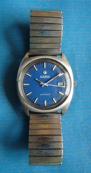 Roamer Anfibio Herrenuhr Uhr Automatic Armbanduhr Watch Mod 430 - 1120 012 Bild