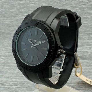 Herrenuhr Quarz Converse Vr016 - 001 Quarzuhr Uhr Schwarz Herrenarmbanduhr Bild