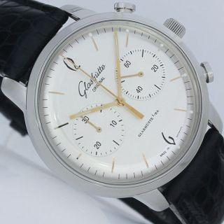 GlashÜtte Senator Sixties Chronograph Uhr Ref.  1 - 39 - 34 - 03 - 22 - 04 Bild