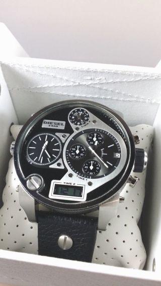 Diesel Uhr Dz7125 Xxl Sba Big Daddy Herrenuhr Chronograph Uhr Bild