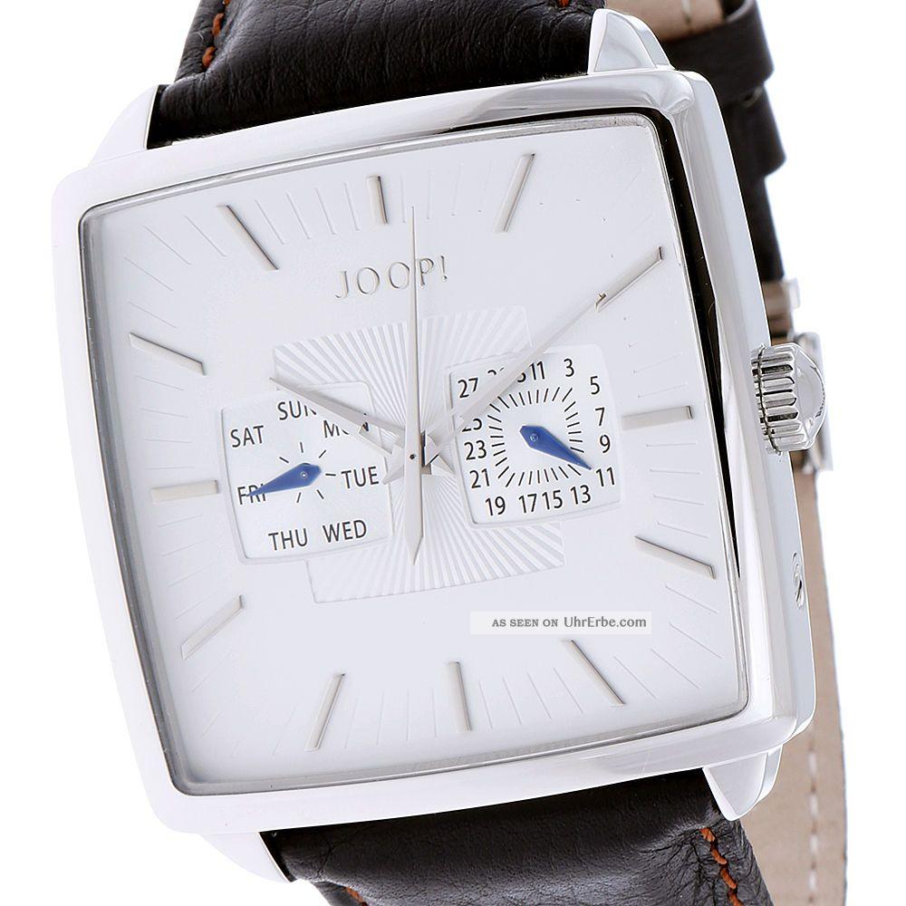 Joop Herrenuhr Vibes Gents Jp100641f02 Silber Weiß, Armbanduhren Bild