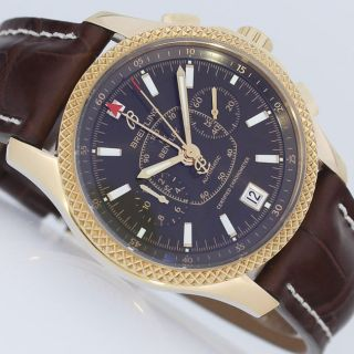 Breitling For Bentley Mark Vi Chronograph Limited Gold Uhr Ref.  H26362 Bild