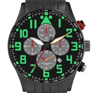 V8,  42mm,  Astroavia,  Alarm Chronograph,  Wecker,  Flieger Uhr,  Piloten Uhr Bild