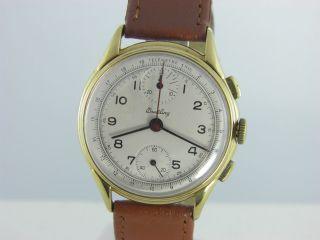 Breitling Herren Chronograph Aus Den 50er Jahren.  Kal.  Venus 170 Bild