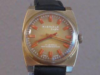 Schöne Kienzle Herrenuhr Ca1970 Bild