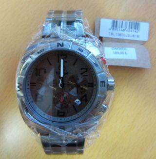 Timberland Chronograph Oakwell Herrenuhr Armbanduhr Analog Edelstahl Lp 189€ Bild