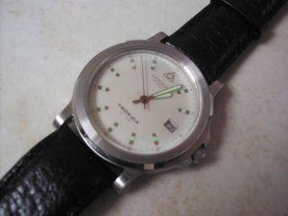 Dugen Uhr Tropica Sl 100 Ungetragen Sammler Rar 10 Atm Silber Bild