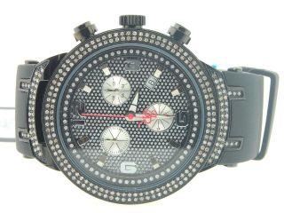 Herren Joe Rodeo Jojo Master Edition 242 Echt Diamant Uhr 2.  20 Ct.  Schwarz Jjm90 Bild