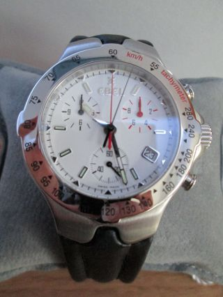 Ebel Sportwave Chronograph Stainless Steel Bild