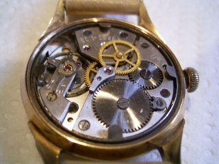 Glashütte Herren Armbanduhr Mit Gub Kal 60.  1 Mit Zentraler Sekunde Bild