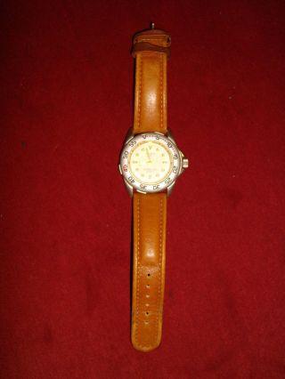 Spirit Of Adventure,  Schöne Herren Armbanduhr Mit Braunem Leder - Armband Bild
