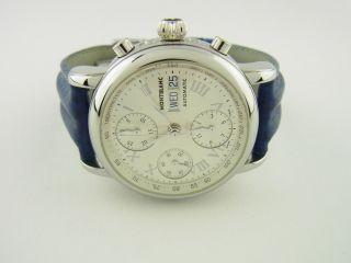 Montblanc Meisterstück Day Date Chronograph Ref.  6016 Bild