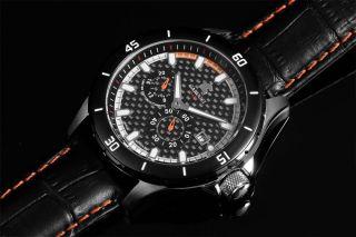 Automatikuhr Carucci Ca2187or Herrenuhr Uhr Lederarmband Bild