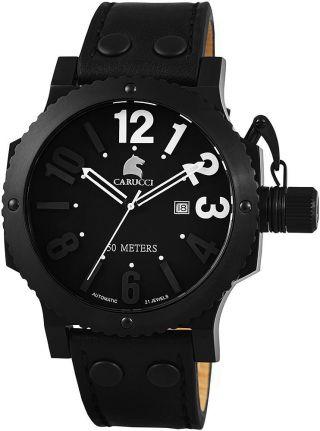 Automatikuhr Carucci Herrenuhr Armbanduhr Ca2211bk - Wh Uhr Imola Ii Bild