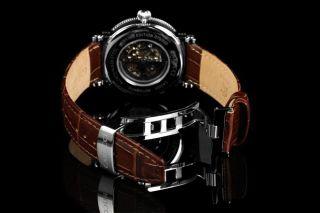 Carucci Automatik Herren Uhr Catanzaro Ii Ca2203br Braun Bild