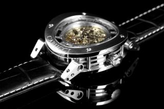 Carucci Automatik Herren Uhr Tavado Ii Schwarz Silber - Farbig Ca2207sl Bild