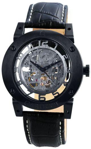 Carucci Automatik Herren Uhr Tavado Ii Schwarz Ca2207bk Bild