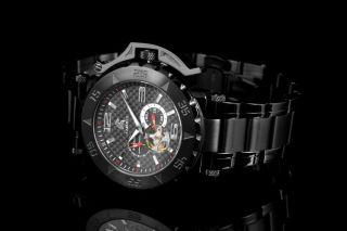 Carucci Uhr Automatik Herrenuhr Ca2199bk - Bk Schwarz Teramo Automatic Bild