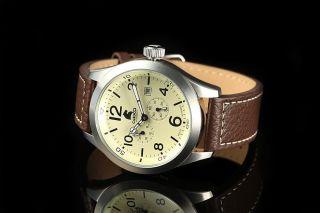 Carucci Automatik Herren Uhr Automatikuhr Ca2202cr San Severo Braun Bild