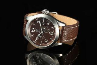 Carucci Automatik Herren Uhr Automatikuhr Braun Ca2202br San Severo Bild