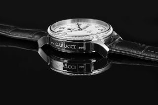 Carucci Automatik Herren Uhr Ca2209sl Automatikuhr Prato Bild