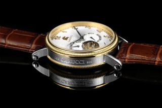 Carucci Automatik Herren Uhr Ca2201gd - Wh Syrakus Ii Automatikuhr Bild