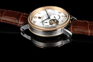 Carucci Automatik Herren Uhr Ca2201rg - Wh Syrakus Ii Automatikuhr Bild