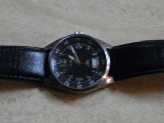 Tcm Herren Armbanduhr Mit Schwarzem Lederarmband Bild