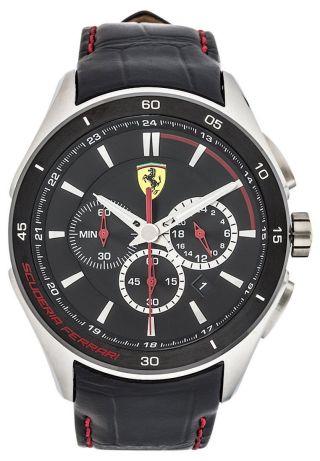 Ferrari Uhr Gran Premio Chronograph Leder Bild