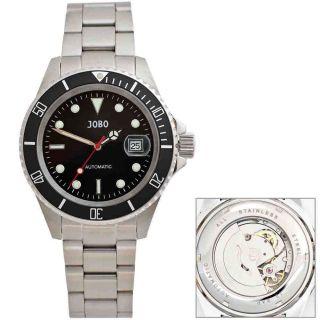Jobo Automatik Herrenuhr Herrenarmbanduhr Uhr Glasboden Armbanduhr J - 41899 Bild