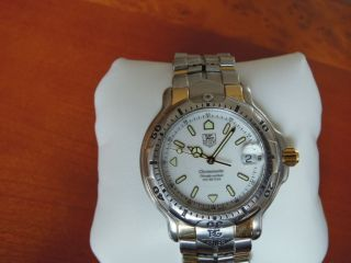Tag Heuer - Automatic Chronometer - 18k Gold & Ss - Top - - 40 Mm Bild
