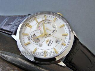 Orient Sun&moon Uhr Automatisch,  Sapphireglas,  Japan Fet0p003w0,  Fet0p002b0 Bild