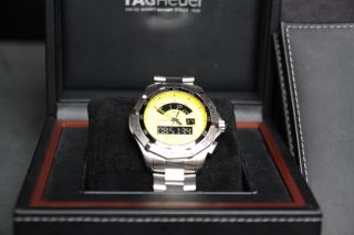 Tag Heuer Aquaracer Chronotimer Mens Watch (model No.  Caf1011.  Ba0821) Bild