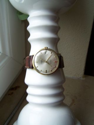 Anker,  Automatik 25 Jewels Uhr Vintage Teuer Nachlass,  585,  Gold Bild