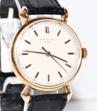 Patek Philippe Wristwatch Ref.  1536 18kt Gelbgold Uhr 1947 Stammbuchauszug Bild