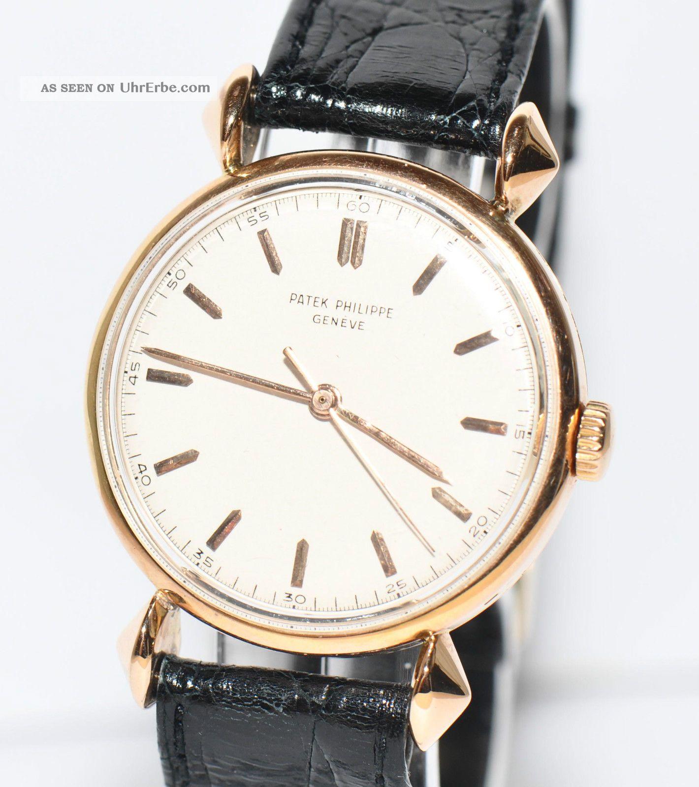 patek philippe wristwatch ref 1536 18kt gelbgold uhr 1947 stammbuchauszug. Black Bedroom Furniture Sets. Home Design Ideas